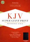 KJV Super Giant Print Reference Bible Bonded Leather Black