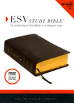 ESV Study Bible Bonded Leather Black