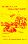 The Search For The Ancient Order:  Volume III:  A History of the Restoration Movement  1900-1918 [Hardcover]