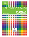 Heritage of Faith FALL Primary Teacher Book