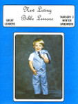 New Living Bible Lessons WINTER Nursery 3 Student