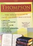 KJV Thompson Chain Reference Bible Genuine Leather Burgundy