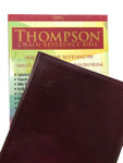 ESV Thompson Chain Reference Bible Bonded Leather Burgundy Indexed