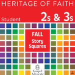 Heritage of Faith FALL 2s and 3s Story Squares