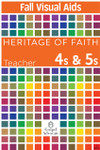 Heritage of Faith FALL 4s and 5s Visual Aids