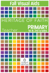 Heritage of Faith FALL Primary Visual Aids
