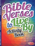 Bible Verses To Live By Activity Book Reproducible Ages 8-10