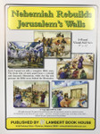 Bible Story Cards 5 Panel Set - Nehemiah Rebuilds Jerusalem's Walls