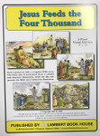 Bible Story Cards 5 Panel Set - Jesus Feeds 4000