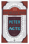 Horizons Teen Bible Curriculum Winter 2019 (Student)   Peter in Acts