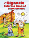 Gigantic Coloring Book of Bible Stories