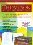 KJV Thompson Chain-Reference Bible, Large Print, Black