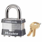 Master Lock Laminated Padlocks Keyed Alike Key Code 0303 (470-1KA-0303)