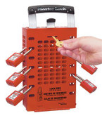 MASTER LOCK Safety Series Latch Tight Lock Boxes (470-503RED)