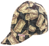 COMEAUX CAPS Deep Round Crown Caps (118-1000-7-1/2)