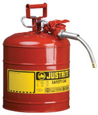 JUSTRITE Type II AccuFlow Safety Cans (400-7225130)