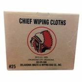 Oklahoma Waste & Wiping Rag Balbriggan Lightweight Knit Towels (552-101-25)