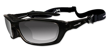 Wiley X Brick, Polarized Grey Lens, Gloss Black Frame