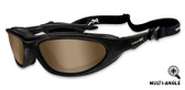 Wiley X Blink, Polarized Copper Lens, Matte Black Frame (557)