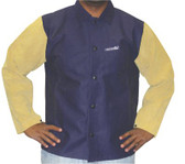 Best Welds Leather/Sateen Combo Jackets (902-1201-XL)