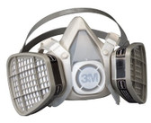3M OH&ESD 5000 Series Half Facepiece Respirators (142-5301)