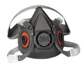 3M OH&ESD 6000 Series Half Facepiece Respirators (142-6100)
