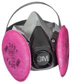 3M OH&ESD 6000 Series Half Facepiece Respirator Assemblies (142-6291)