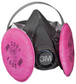 3M OH&ESD 6000 Series Half Facepiece Respirator Assemblies (142-6391)