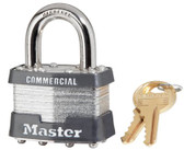 MASTER LOCK No. 1 Laminated Steel Pin Tumbler Padlocks (470-1DCOM)