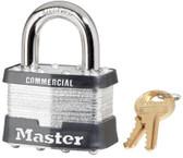 MASTER LOCK No. 5 Laminated Steel Pin Tumbler Padlocks (470-5DCOM)