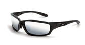 * CrossFire Infinity silver mirror lens, shiny black frame (CF-263)