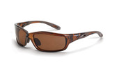 * CrossFire Infinity HD brown Polarized lens, crystal brown frame (CF-21126)