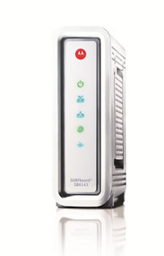 Comcast Modem for Sale Motorola SB6141 Advanced Docsis 3 Cable Modem Front View