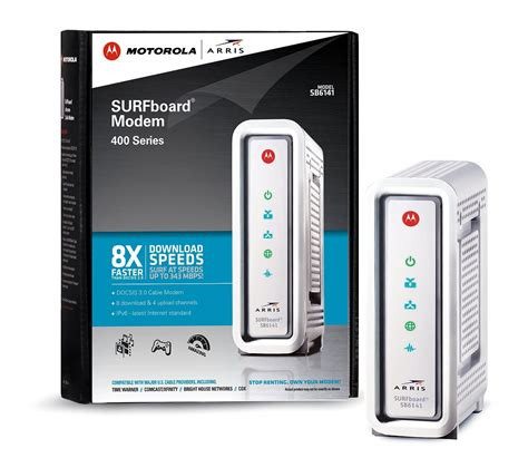Comcast Modem for Sale Motorola SB6141 Advanced Docsis 3 Cable Modem Retail Pic (no box included)