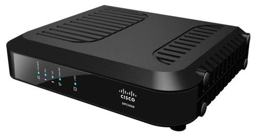 Spectrum Time Warner Modem Cisco DPC3008 Docsis 3 Cable Modem Side View