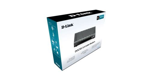 Time Warner Docsis 3 Modem D-Link DCM 301 Fast Cable Modem Retail Pic (No box included)