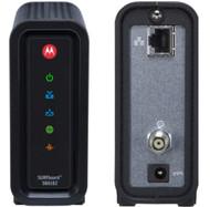 Cox Approved Modem Motorola SB6182 Docsis 3 Cox Compatible Modem Split View