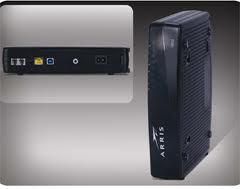 Comcast Phone Modem Arris TM722G + Netgear WNR2000 Router Package
