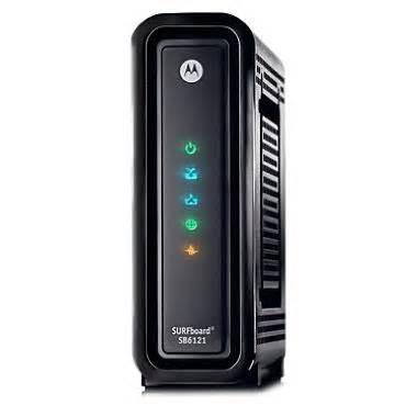 One of the Best Modems For Time Warner Motorola SB6121 Docsis 3 Modem