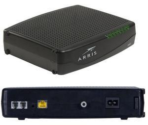 Optimum router and Arris TM1602 Compatible Optimum modem