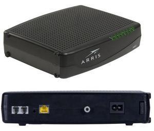 Optimum router and Arris TM1602 Compatible Optimum modem