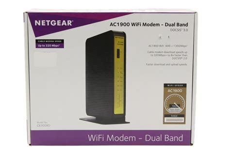 Comcast AC Router Netgear C6300BD AC1900 Dual Band Router Retail Picture (no box included)