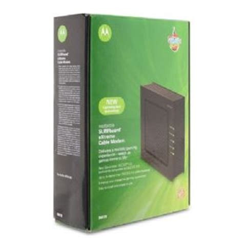 Fast Modem for Time Warner Motorola SB6120 Docsis 3 Cable Modem Retail Pic (Box not included)