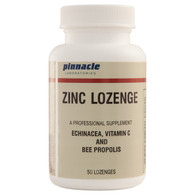 ZINC LOZENGE (with echinacea / great citrus taste/orange juice crystals)