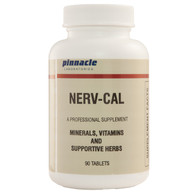 NERV-CAL (calcium lactate, a balanced formula that helps smooths muscle and nerve flow)