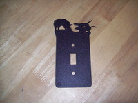 HOG DOG SWITCH PLATE COVER (SINGLE)