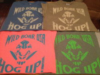 WILD BOAR USA - HOG UP! T-SHIRT