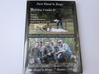 DVD JUST HUNT'N DOGS (Training Volume #2)