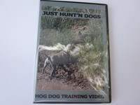 DVD JUST HUNT'N DOGS (Hog Dog Training Video)
