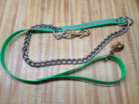"3/4"" REFLECTIVE DAY GLO AND CHAIN LEAD"